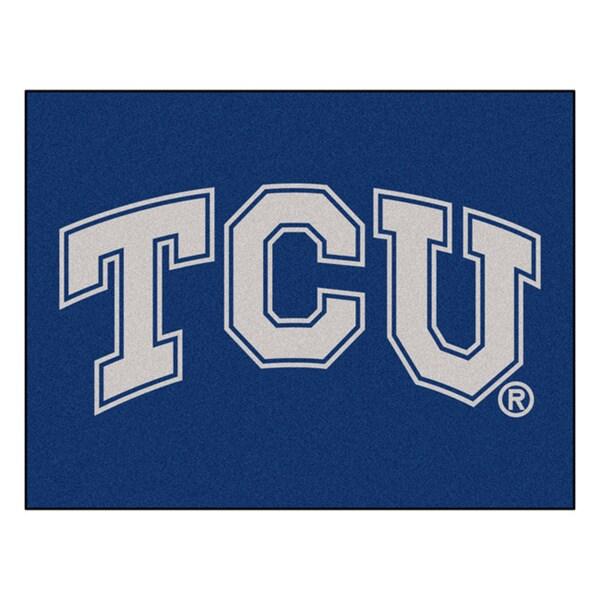 Fanmats Texas Christian University Purple Nylon Allstar Rug (2'8 x 3'8)