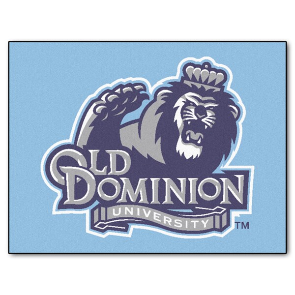 Fanmats Old Dominion University Blue Nylon Allstar Rug (2'8 x 3'8)