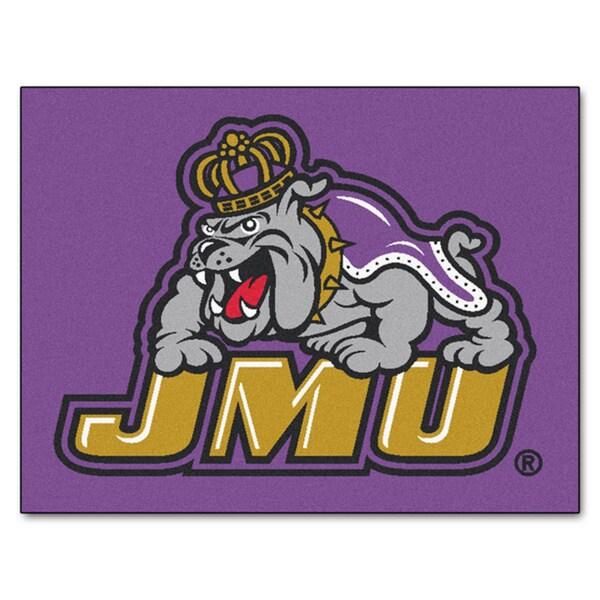 Fanmats James Madison University Purple Nylon Allstar Rug (2'8 x 3'8)