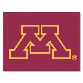 Fanmats University of Minnesota Burgundy Nylon Allstar Rug (2'8 x 3'8)