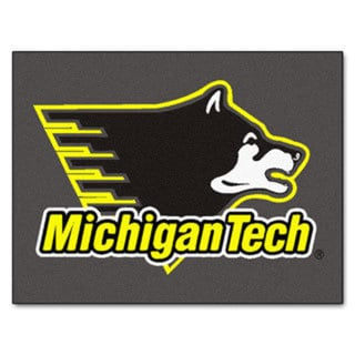 Fanmats Michigan Tech Grey Nylon Allstar Rug (2'8 x 3'8)