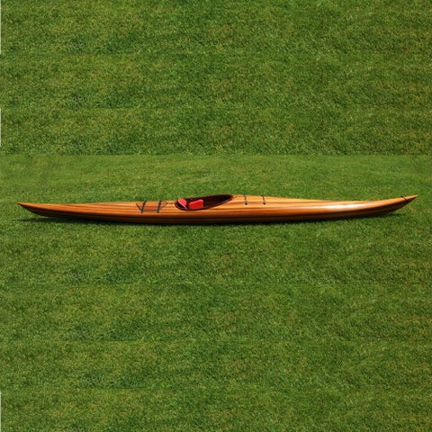 Old Modern Handicrafts Hudson 18-foot Western Red Cedar Kayak