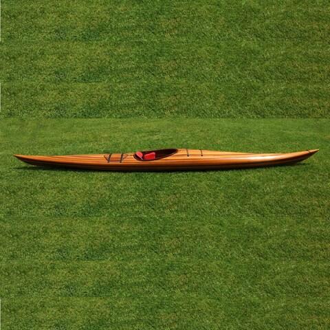 Old Modern Handicrafts Hudson 18-foot Western Red Cedar Kayak