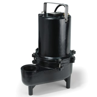 ESE50M ECO-FLO Products 1/2 HP Submersible Cast Iron Sewage Pump-Manual Switch