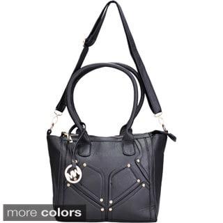 J. Furmani Classy Vegan Leather Tote Handbag