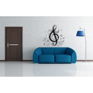 Musical Note Sticker Vinyl Wall Art
