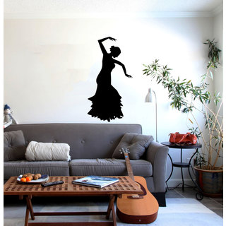 Flamenco Dancing Vinyl Wall Art