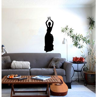Dancing Silhouette Sticker Vinyl Art