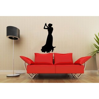 Dancing Silhouette Sticker Vinyl Wall Art