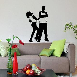 Dancing inspirational vinyl sticker wall art free - Sticker mural leroy merlin ...