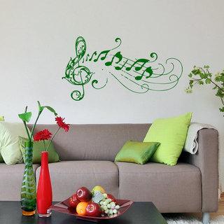 Music Notes Clef inspirational Sticker Vinyl Wall Art