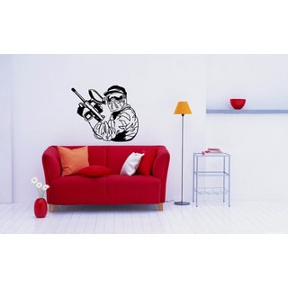 Paintball Mural Sticker Vinyl Wall Art