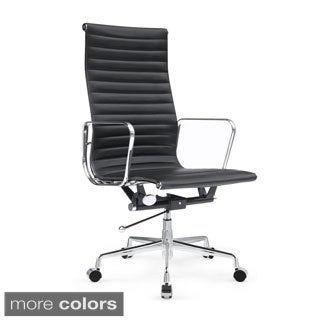 Togo High Back Leather Office Chair