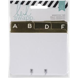Memorydex Address Book Cards W/Alpha Tabs 12/Pkg