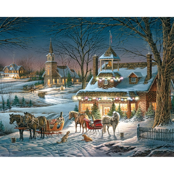 """Jigsaw Puzzle Terry Redlin 1000 Pieces 24""""X30""""-Evening Rehearsal"""