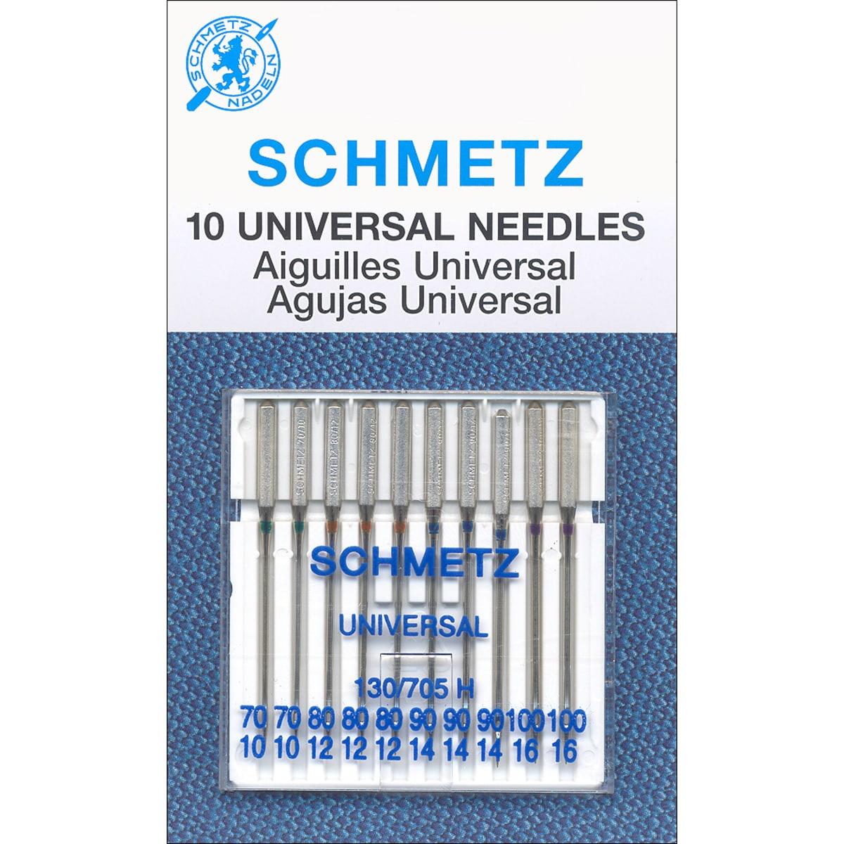 Universal Machine Needles-Size 70/80/90/100 10/Pkg (Size ...