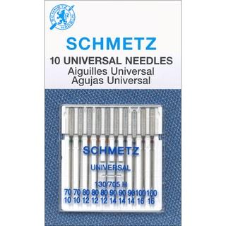 Universal Machine Needles-Size 70/80/90/100 10/Pkg