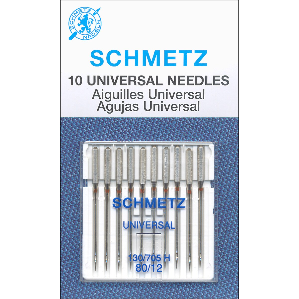 Universal Machine Needles -Size 80/12 10/Pkg (Size 80/12 ...