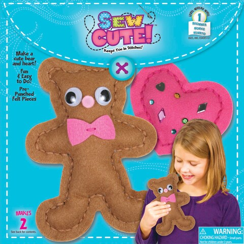Sew Cute Sew A Bear