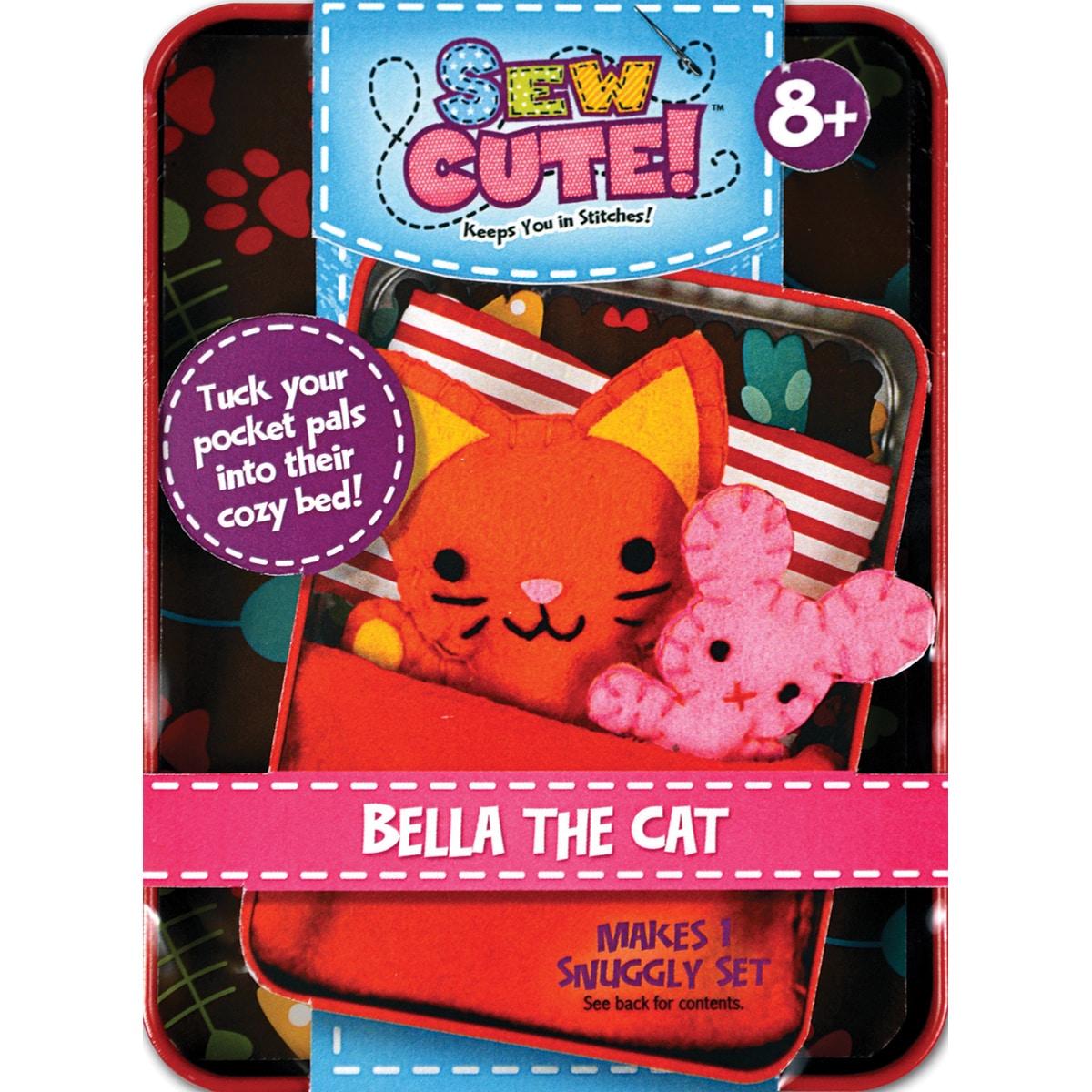Colorbok Sew Cute Tincredible Cat (cat), Pink