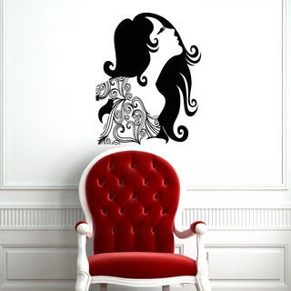 Beauty Sticker Vinyl Wall Art