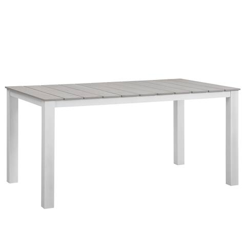 Buy Outdoor Dining Tables Online At Overstockcom Our Best Patio - White metal outdoor dining table