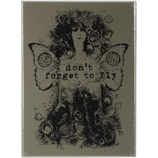 """Finnabair Wood Mounted Stamps 3""""X4""""-Don't Forget To Fly"""