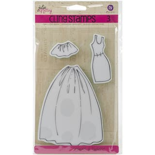 Julie Nutting Mixed Media Cling Rubber Stamps-Dress & Skirts Accessories|https://ak1.ostkcdn.com/images/products/10033730/P17179483.jpg?impolicy=medium