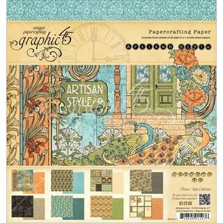 "Graphic 45 Paper Pad 8""X8"" 24/Pkg-Artisan Style"