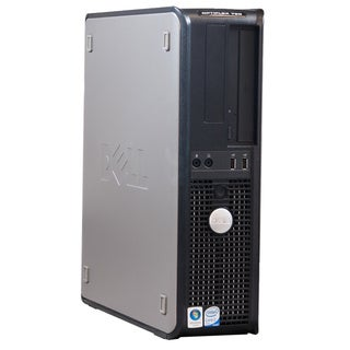 Dell Optiplex 760 Intel Core 2 Quad 2.33GHz CPU 4GB RAM 500GB HDD Windows 10 Pro Desktop Computer (Refurbished)