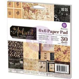 """Prima Marketing Paper Pad 6""""X6""""-The Archivist"""