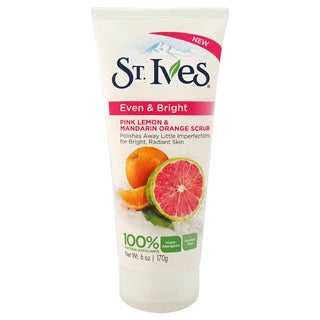 St. Ives Even & Bright Pink 6-ounce Lemon and Mandarin Orange Scrub