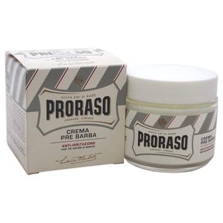Proraso Anti-irritation 3.38-ounce Green Tea and Oatmeal Pre-shave Cream