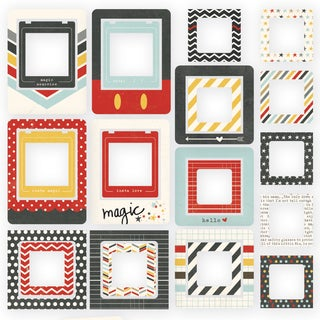 Say Cheese II Chipboard Frames 24/Pkg