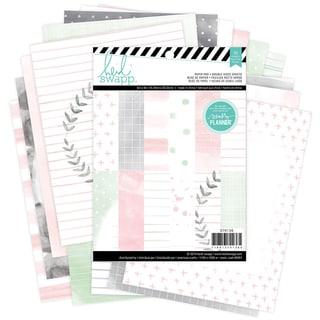 "Heidi Swapp Paper Pack 6""X8"" 36/Pkg-Hello Beautiful"