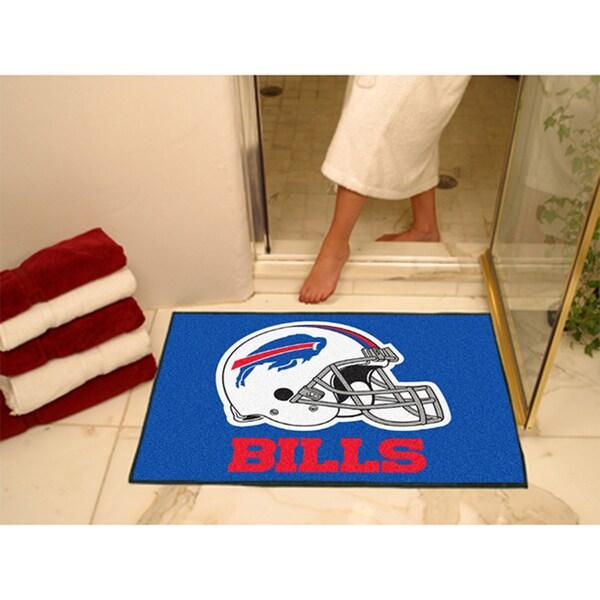 Fanmats Buffalo Bills Blue Nylon Allstar Rug (2'8 x 3'8)