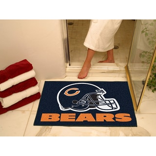 Fanmats Chicago Bears Blue Nylon Allstar Rug (2'8 x 3'8)