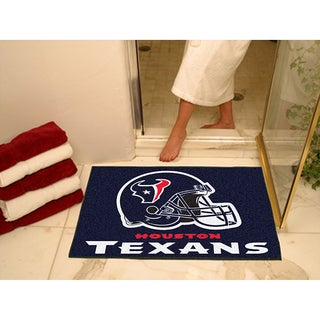 Fanmats Houston Texans Blue Nylon Allstar Rug (2'8 x 3'8)