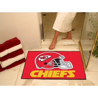 Fanmats Kansas City Chiefs Red Nylon Allstar Rug (2'8 x 3'8)