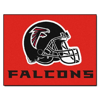 Fanmats Atlanta Falcons Red Nylon Allstar Rug (2'8 x 3'8)
