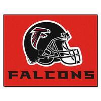 Fanmats Atlanta Falcons Red Nylon Allstar Rug (2'8 x 3'8)