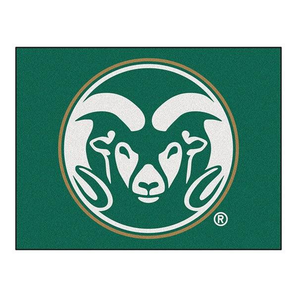 Fanmats Colorado State University Green Nylon Allstar Rug (2'8 x 3'8)