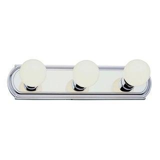 Cambridge 3-Light Brushed Nickel 18 in. Bath Vanity