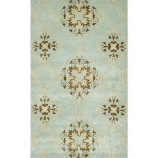 Hand-tufted Beacon Hill Wool and Artificial Silk Area Rug (5' x 8')
