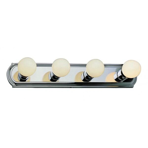Cambridge 4-Light Brushed Nickel 24 in. Bath Vanity