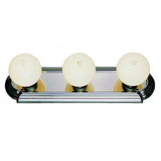 Cambridge 3-Light Brushed Nickel 18.5 in. Bath Vanity