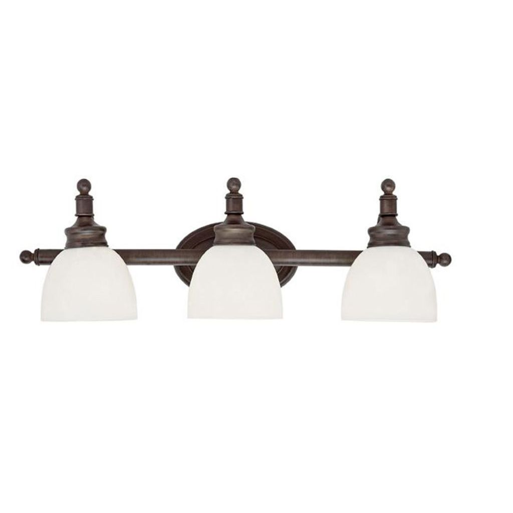 Bathroom vanity light white glass shades wall mounted sconce bathroom vanity light white glass shades wall mounted sconce rubbed oil bronze aloadofball Image collections
