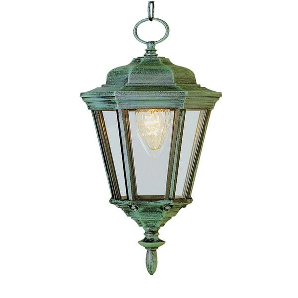 Must Watch 30 Stunning Deck Lighting Ideas: Shop Cambridge 1-Light Verde Green 17.25 In. Outdoor