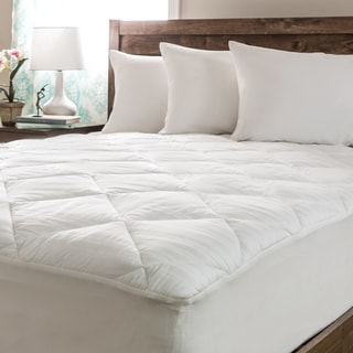 Spring Air 300 Egyptian Ren Stripe GTF18 Mattress Pad