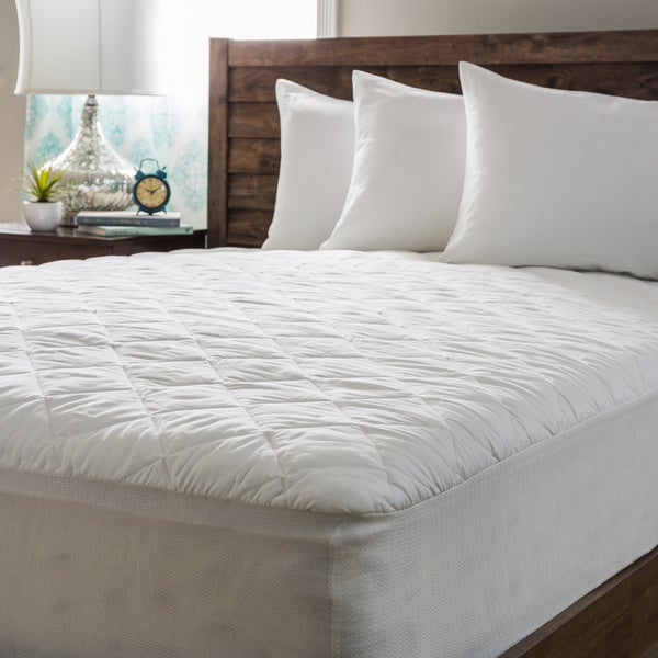 Spring Air 230 Thread Count 4-ounce Traditional GTF18 Mattress Pad
